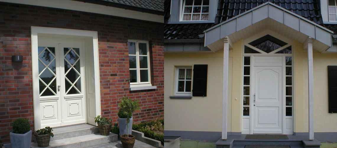 Holzhaustür  Holzhaustüren direkt vom Hersteller - Holzfensterbau Bergers