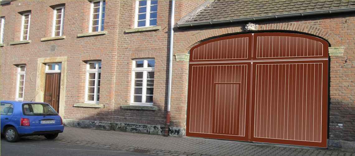 Holztore hochwertig edel aus nrw holzfensterbau bergers for Holzfenster hersteller